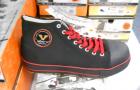 Sicherheitsschuhe VOLARE X-WORK schwarz mit rotem Rand | Gr 43
