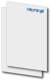 Briefbogen DIN A4 zweiseitig 4/4-farbig